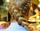 Прически с косами на выпускной, фото 8