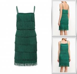 Зеленые платья, платье city goddess, весна-лето 2016