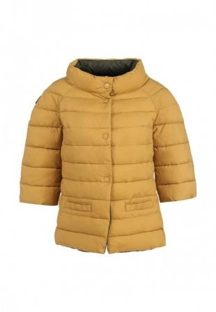 Горчичные куртки, куртка утепленная rinascimento, осень-зима 2015/2016