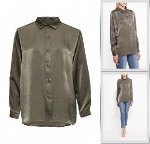 Хаки блузки, блуза care of you, осень-зима 2016/2017