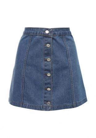 Джинсовые юбки, юбка джинсовая missi london, осень-зима 2016/2017