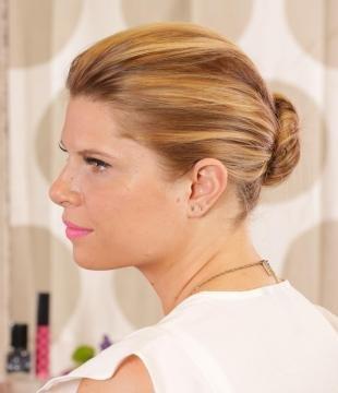 Медово карамельный цвет волос на длинные волосы, прическа на каждый день за 5 минут