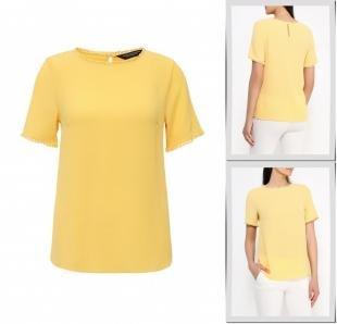 Желтые блузки, блуза dorothy perkins, весна-лето 2016
