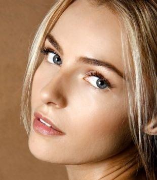 Естественный макияж, макияж на 1 сентября для светлых волос
