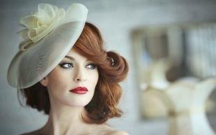 Прически в стиле 30 х годов на средние волосы, вечерняя прическа на средние и длинные волосы