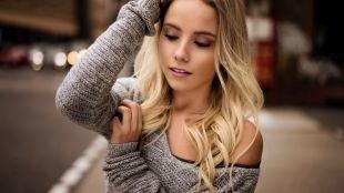Быстрый макияж, модный макияж для блондинок