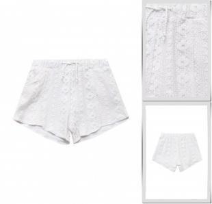 Белые шорты, шорты blukids, весна-лето 2016