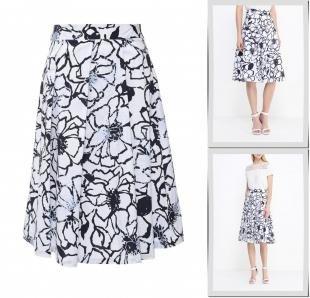 Белые юбки, юбка baon, весна-лето 2016