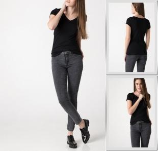 Черные футболки, футболка defacto,