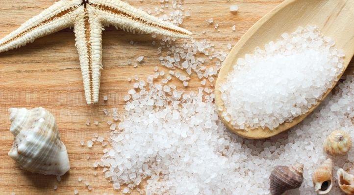 Морская соль для укрепления ногтей