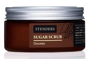 """Абрикосовый скраб, stenders сахарный скраб """"южный шоколад"""", 250 г"""