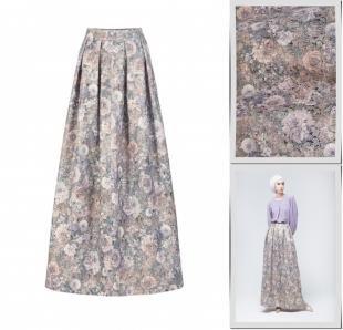 Коричневые юбки, юбка bella kareema,