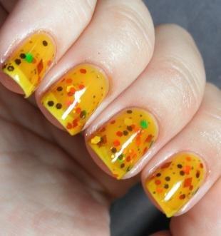 Аквариумный дизайн ногтей, аквариумный дизайн ногтей с блестками