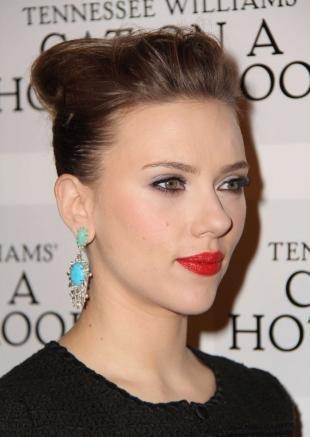 Голливудский макияж, вечерний макияж под черное платье
