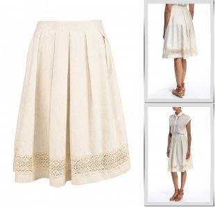 Молочные юбки, юбка gregory, весна-лето 2015