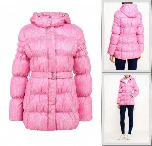 Розовые куртки, куртка утепленная grishko, осень-зима 2015/2016