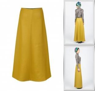 Желтые юбки, юбка bella kareema,