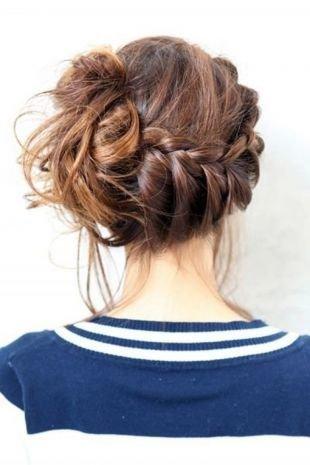 Прическа колосок на длинные волосы, красивая греческая прическа