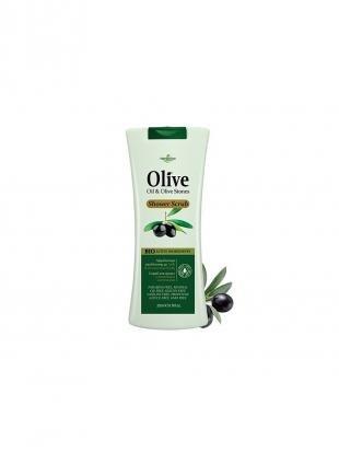 Скраб с оливковым маслом, madis s.a. герболив гель-скраб для душа с оливковыми косточками, 200мл