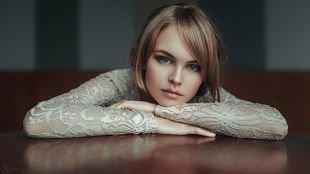 Свадебный макияж для серых глаз, дымчатый макияж для серых глаз