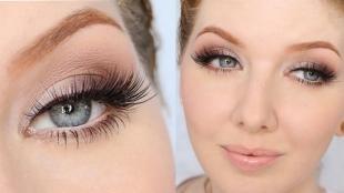 Свадебный макияж для рыжих, пастельный макияж глаз