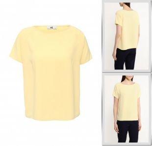 Желтые блузки, блуза adl, весна-лето 2016