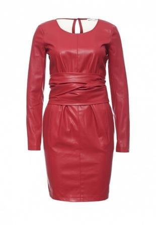 Красные платья, платье patrizia pepe, осень-зима 2016/2017