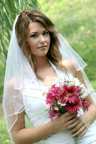 Свадебный макияж для русых, свадебный макияж для карих глаз