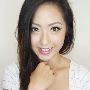 Макияж для опущенных уголков глаз, макияж на каждый день для азиатских глаз