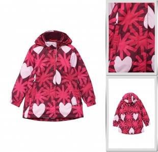 Розовые куртки, куртка утепленная reima, осень-зима 2016/2017