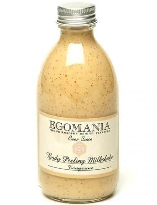 Скраб для сухой кожи тела, egomania молочко-скраб для тела танжерин, 290 мл