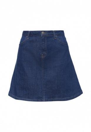 Синие юбки, юбка джинсовая adl, весна-лето 2016