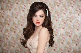 Свадебный макияж для серых глаз, вечерний греческий макияж
