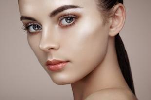 Дневной макияж для брюнеток, безупречный макияж на каждый день