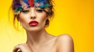 Авангардный макияж, маскарадный макияж