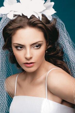 Легкий макияж для карих глаз, нежный свадебный макияж для карих глаз