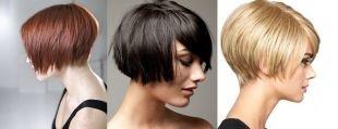 Стрижки и прически для тонких волос на короткие волосы, стрижки и прически для тонких волос - боб-грибок