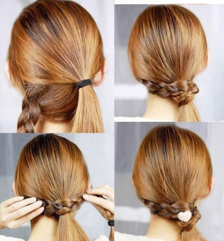 Прически в школу простые фото на длинные волосы